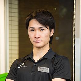 プロジェクトリーダー 担当トレーナー 江越 範行